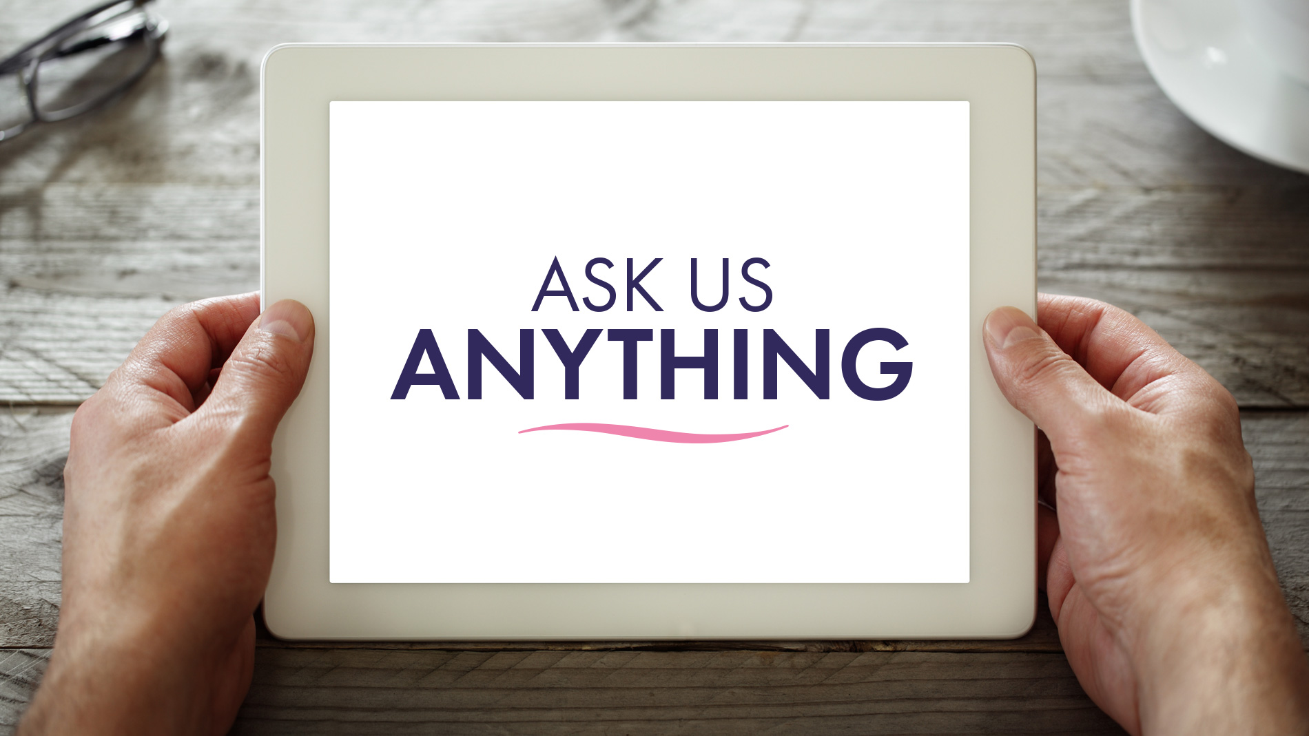 Ask Us Anything iPad