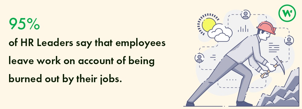 infograph employee burnout