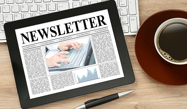 newsletter, image, app