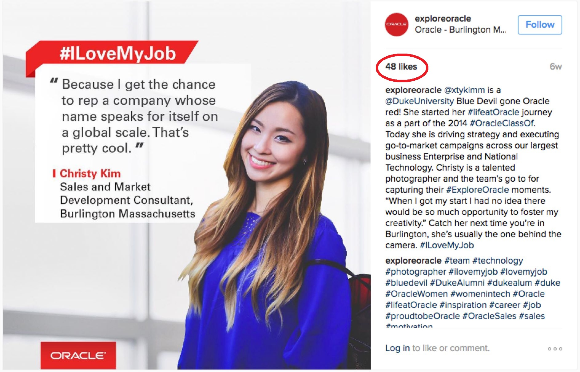 using instragram to promote employer brand